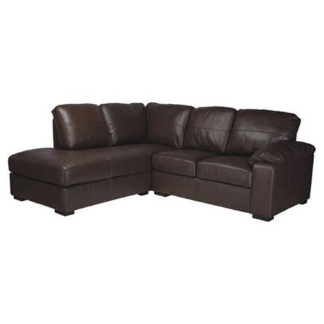 Tesco Corner Sofas by Buy Ashmore Leather Corner Sofa Brown Left Facing From Our Corner Sofas Range Tesco