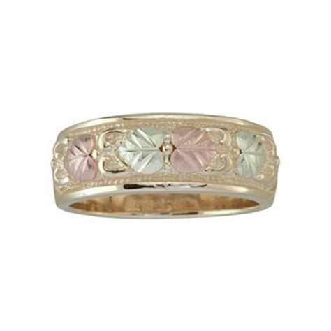 womens black gold band ring jcpenney comes