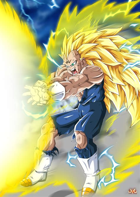 Goku Vegeta Ssj 3 majin vegeta ssj3 s flash by maniaxoi on deviantart