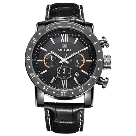 Megir Jam Tangan Analog Ml3008g Hitam megir jam tangan analog ml3008g black jakartanotebook