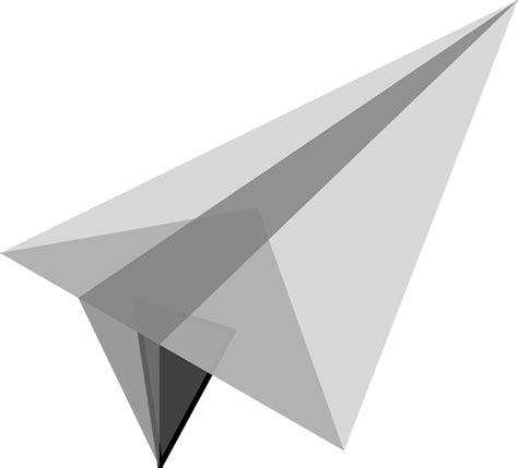 Kertas Origami Kecil gambar vektor gratis pesawat terbang kertas kecil