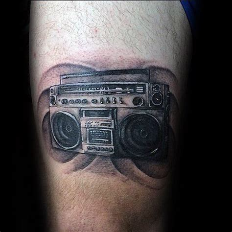 40 boombox designs for retro ink ideas