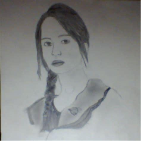 How To Draw Katniss Everdeen Realistic katniss everdeen hunger realistic drawing by