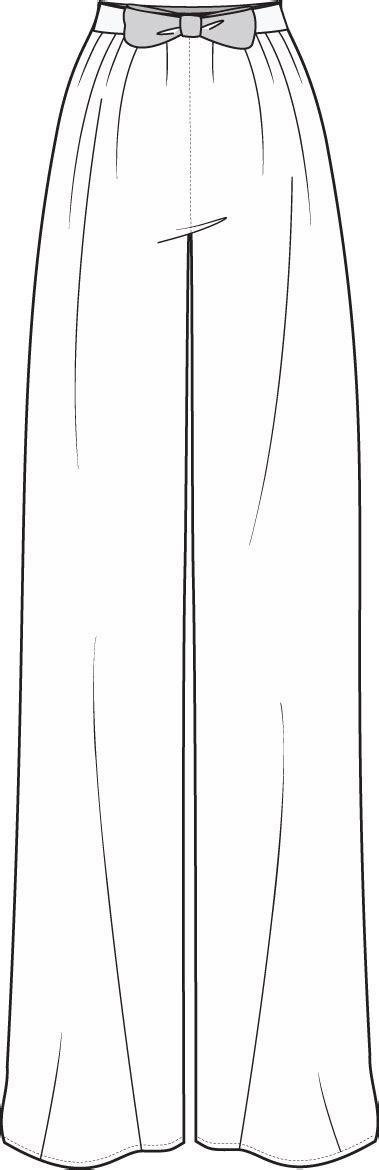 pattern drafting with illustrator 48 best images about pants flat sketch on pinterest