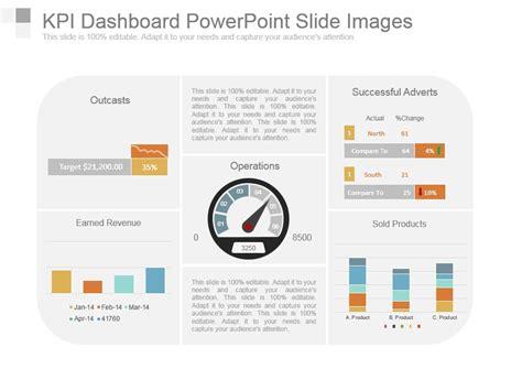 Kpi Dashboard Powerpoint Slide Images Powerpoint Slide Kpi Dashboard Powerpoint Template