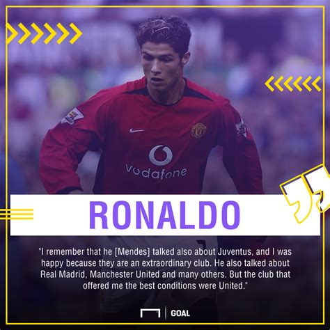 ronaldo juventus quote cristiano ronaldo reveals how he ended up at manchester united real madrid and juventus