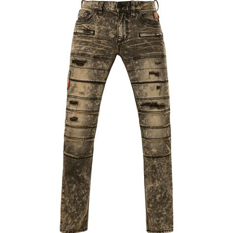 decorative zippers affliction jeans ace rising sable with decorative