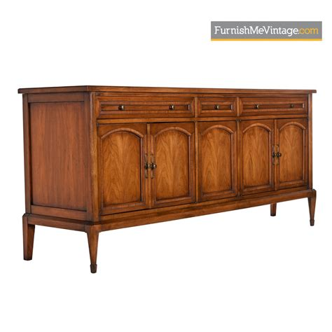 walnut credenza walnut brass credenza by white furniture mid century modern