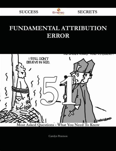 fundamental attribution error 51 success secrets 51 most