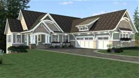 One Story House Plans With Two Master Suites sloping lot house plans amp home designs the house designers