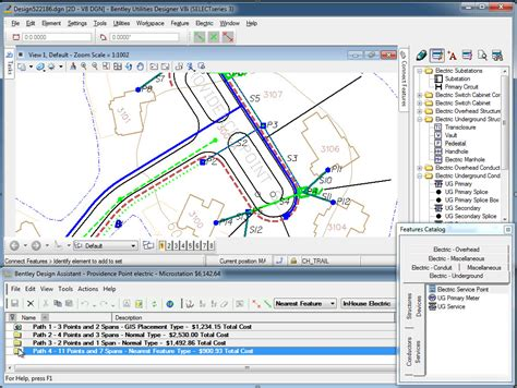 utility and bentley utilities designer streamlines the design and