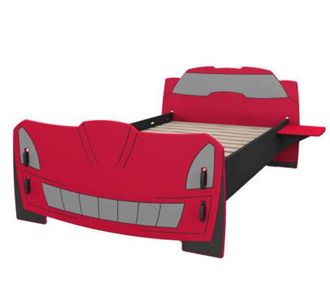 twin race car bed legare kids race car twin bed qvc com