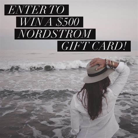 Can You Use A Nordstrom Gift Card At The Rack - giveaway 500 nordstrom gift card it s kristin