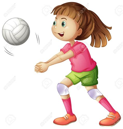 imagenes animadas varias cosas ni 241 as jugando voleibol animado buscar con google
