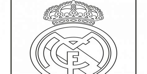 real madrid logo coloring page cool coloring pages others real madrid logo coloring page
