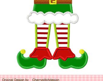 printable elf legs elf legs clipart black and white clipartxtras