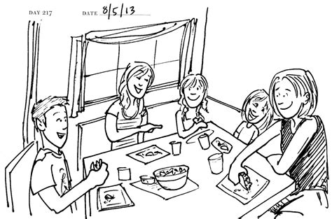 family dinner coloring page whole kids foundation coloring pages of a family eating