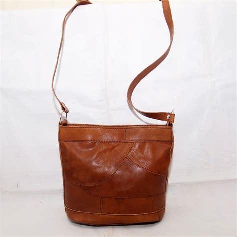 Tas Vintage Kulit Sapi Asli tas kulit asli slempang vintage kode produk kk11 glossy koesoema bags