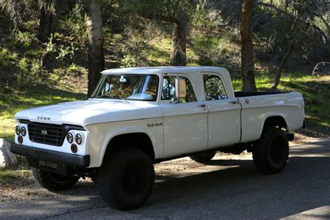icon 4x4 truck 1965 dodge d200 power wagon icon livery pinterest