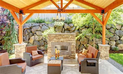 backyard contractors outdoor fireplace construction contractor in marin county