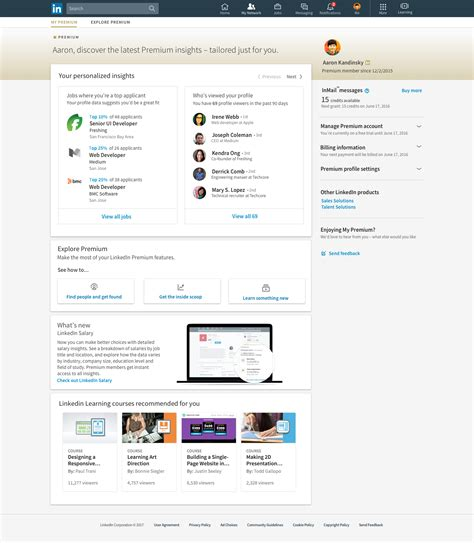 Search For On Linkedin Linkedin Premium Features Driverlayer Search Engine