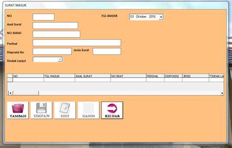 contoh surat masuk dan surat keluar service laptop