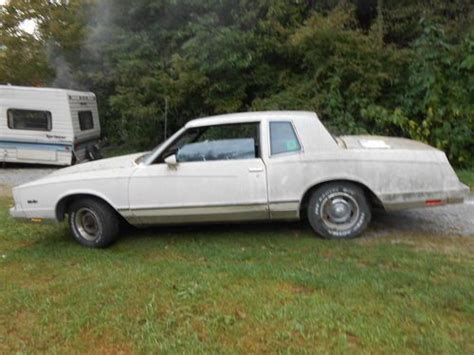 find used 1985 chevrolet monte carlo base coupe 2 door 4