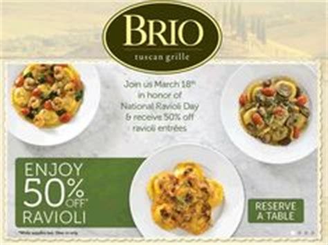 brio tuscan grille coupons 5 wings free with your 20pc at wingstop coupon via the