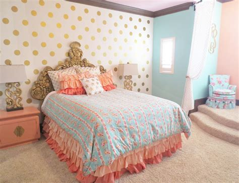 mint bedroom ideas coral mint and gold room design crib room and gold