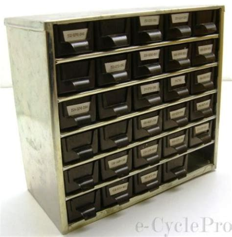 30 drawer cabinet storage system heavy duty all steel