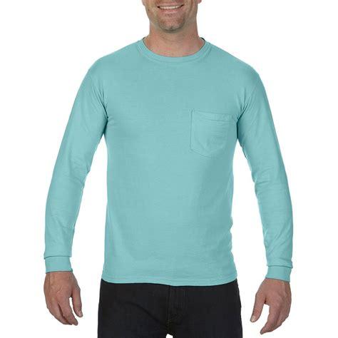 Comfort Colors Chalky Mint Comfort Colors Men S Chalky Mint 6 1 Oz Long Sleeve