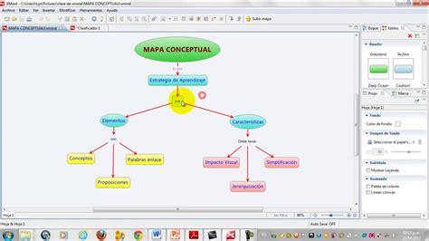 tutorial mapas mentales xmind creaci 243 n de un mapa conceptual en xmind youtube