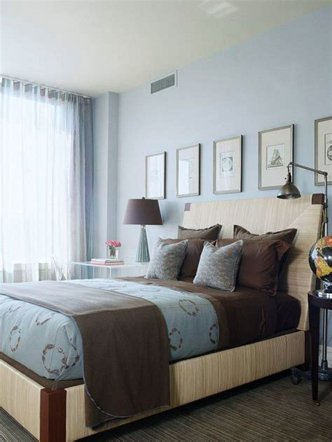 Blue and brown master bedroom info home and furniture decoration design idea