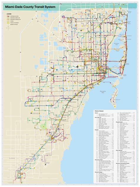 of florida cus map pdf information about quot miami dade transit system map jpg quot on