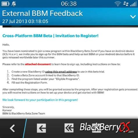 bbm messenger for android blackberry messenger beta for ios and android invites rolling out
