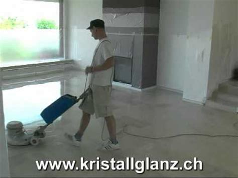 Fliesen Wieder Polieren by Neuer Glanz F 252 R Marmor Und Travertin Schleifen Und