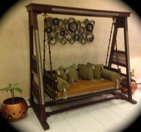 indoor indian swing stunning indoor indian swing quot jhoola quot wooden carved and