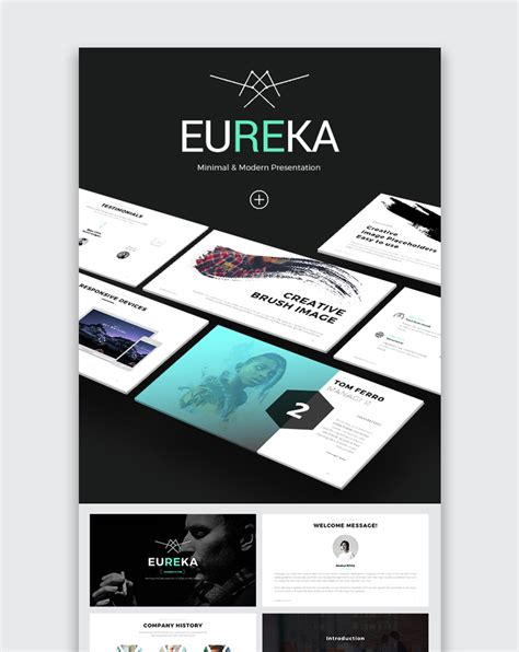 powerpoint design one slide only 30 aesthetic powerpoint templates for clean presentations 2018
