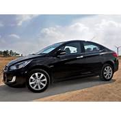 Hyundai Fluidic Verna Black Colour  Car Pictures Images