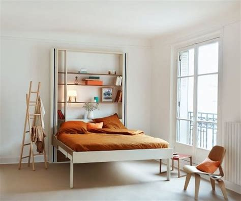 Loft Bedroom Regulations Espace Loggia Mobile Bed With Deft Space Saving Features