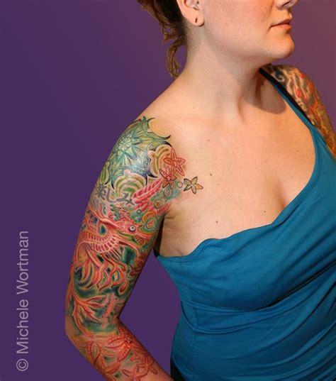 tattoo sea dragon jessica sea dragon sleeve by michele wortman tattoonow