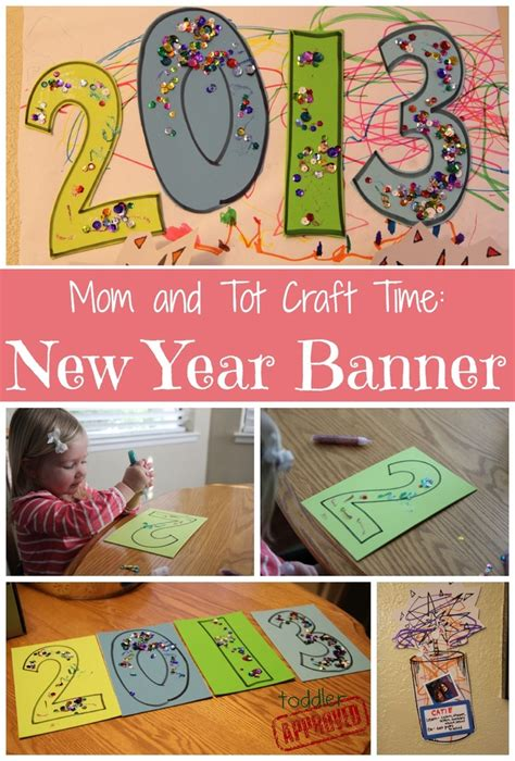 new year banner craft 123 best images about new year s ideas for families on