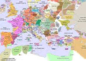 Map Of Medieval Europe by Decameron Web Maps