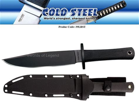 cold steel recon scout knife cold steel recon scout sk 5 tactical knife 39lrst new ebay