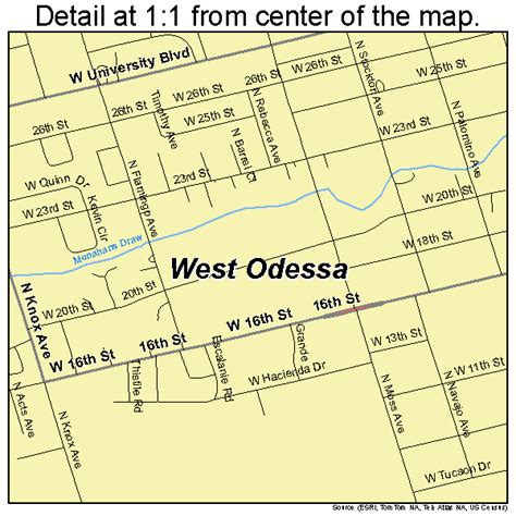 where is odessa texas on the map west odessa texas map 4877728