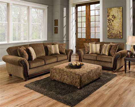 Prime Brothers Furniture by American Furniture 5650 Stationary Living Room