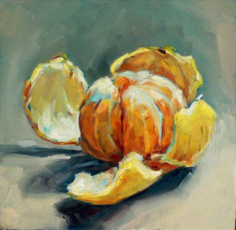 Modern Fruit Bowl by Sally Tharp Larger Than Life Still Life Paintings In Oil