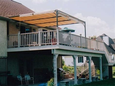 permanent deck awnings permanent awnings for decks 28 images permanent