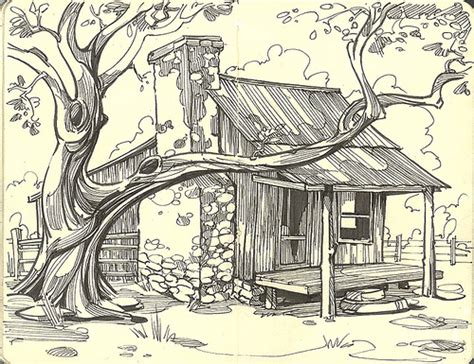 Free Log Cabin Plans Pdf Old Ranch House Flickr Photo Sharing