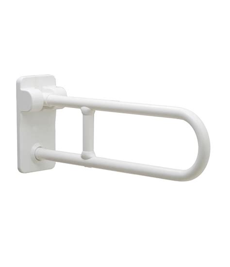 swing up grab bars b 49916 1 1 4 quot diameter vinyl coated swing up grab bar